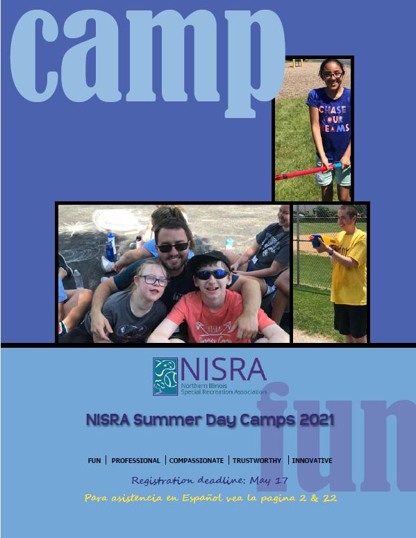 image of Summer Day Camps brochure 2021 cover