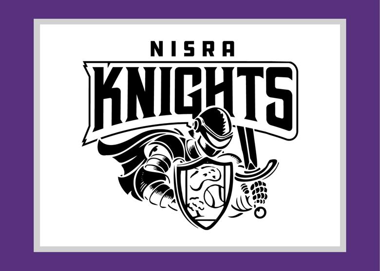 NISRA Knights mascot logo