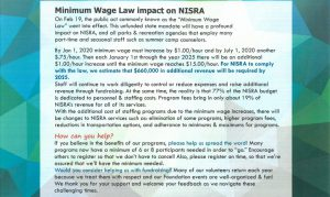 Minimum Wage Law Impact