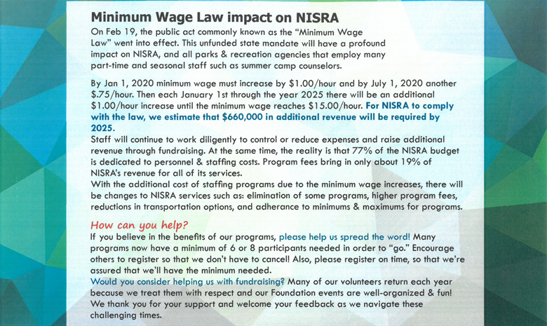 Minimum Wage Law Impact