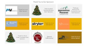 picture of Holiday Fashion Show sponsors