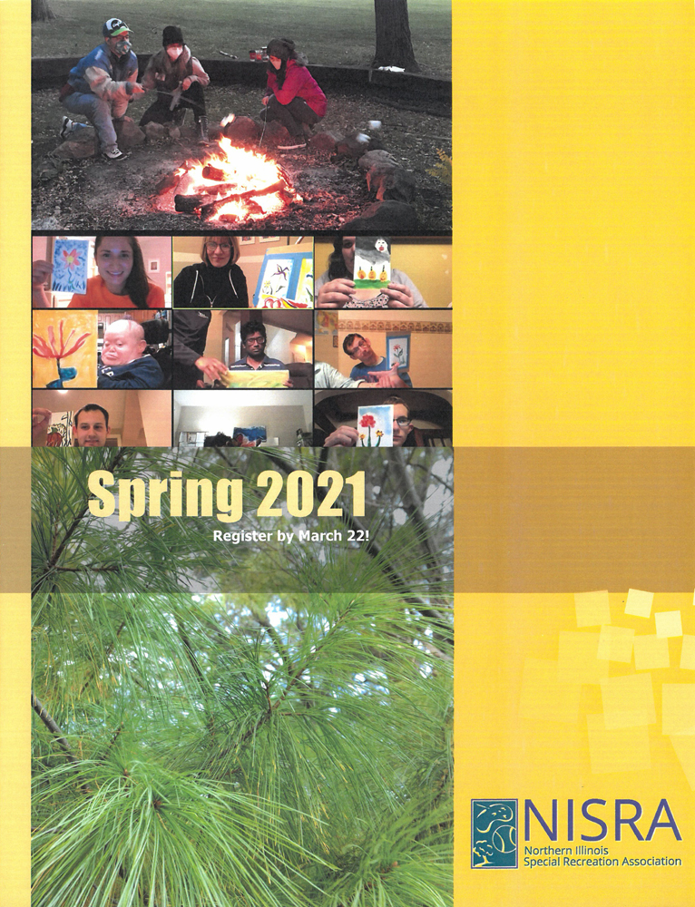 picture of Spring 2021 brochure cover