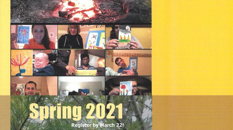 thumbnail picture of Spring brochure cover