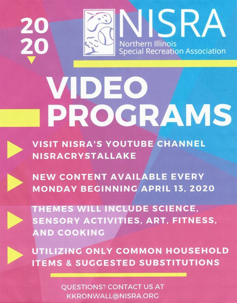 Video Programs flyer