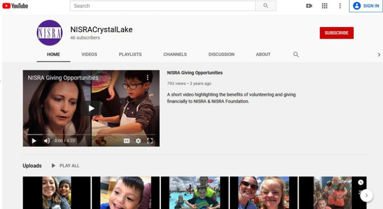 thumbnail picture of NISRA's YouTube channel